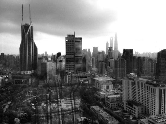 JW Marriott Hotel Shanghai at Tomorrow Square: View from the apartment... amazing