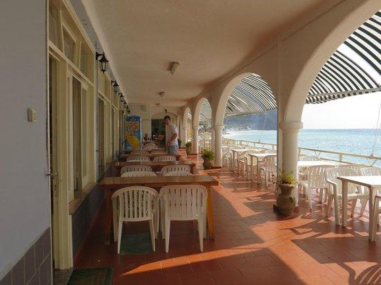 Hotel Vittorio: ristorante veranda