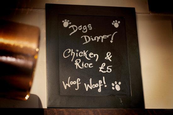 Old Swan & Minster Mill: Dogs Dinner!