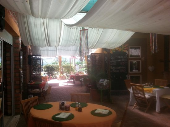 Trixi's Coffee Shop: A View of the patio seating area