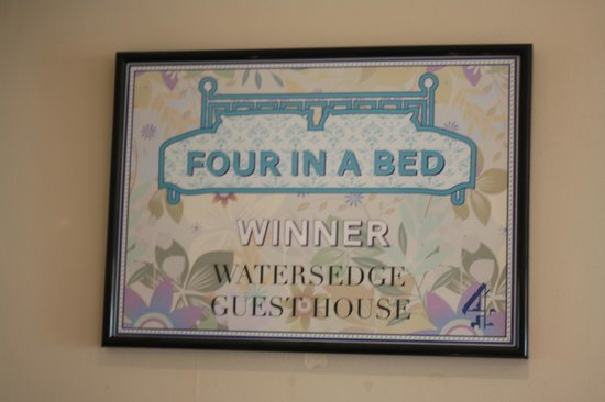 Watersedge Guest House: Very well deserved title!