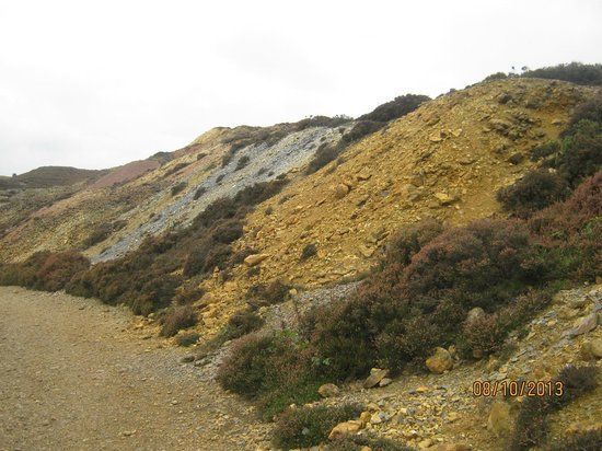 Amlwch Copper Kingdom : Parys Mountain Anglesey