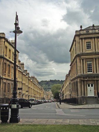 Romany: Bath, Circus, looking toward Gay Street