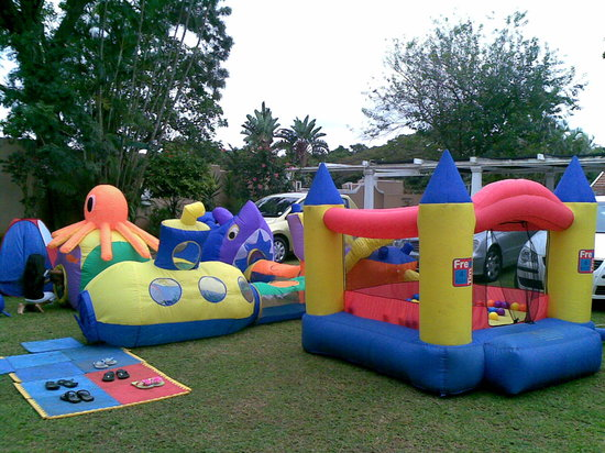 Umhlanga Guest house: Jumping Castle