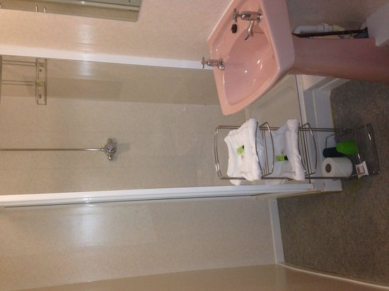 Abbeyfield Hotel: Bathroom