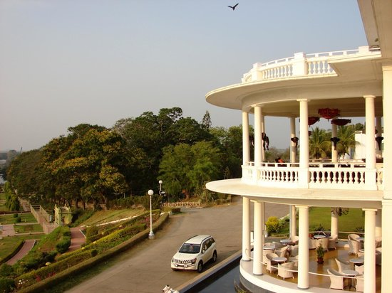 Royal Orchid Brindavan Garden Palace & Spa: View from the room!