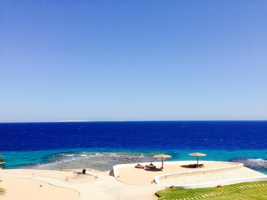 The Oberoi Sahl Hasheesh: View from the pool