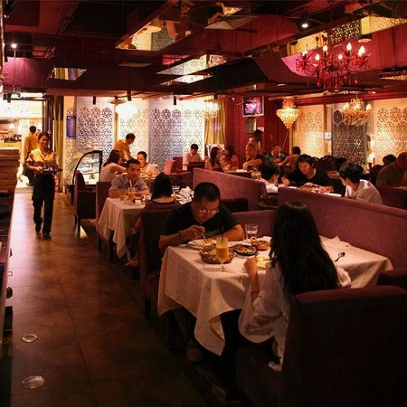 Ganges Indian Restaurant: 'The Place', CBD restaurant interior