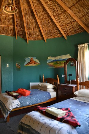 Malealea Lodge: Our rondavel