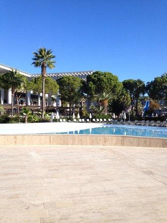 Alva Donna World Palace : Бассейн с волнами