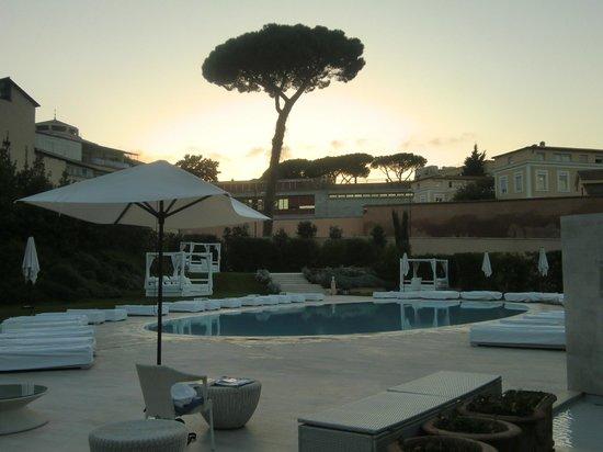 Spa picture of gran melia rome rome tripadvisor for Rome gran melia hotel