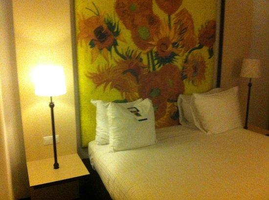 WestCord Art Hotel Amsterdam : la camera