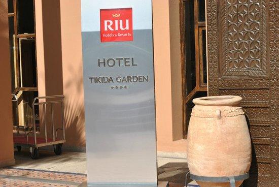 Hotel Riu Tikida Garden : entrée de l'hôtel