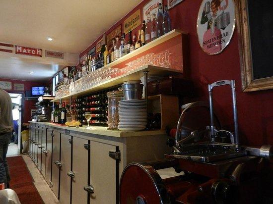 Bistrot des Quat'Zarts: le bar