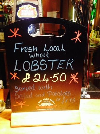 The Selkirk Arms Bar, Bistro and Restaurant: Local, Fresh & Good value