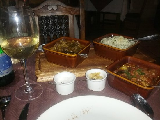 L-Ankra Restaurant: Lamb Curry with Aromatic Rice