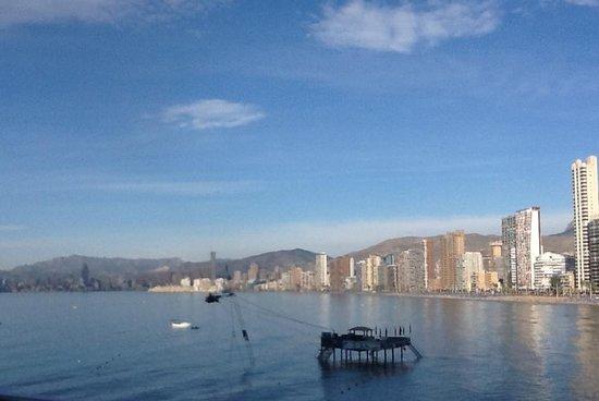 Hotel Benikaktus: de skyline