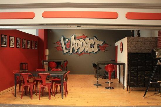 """L'addict : L'atelier avec son style """"usine"""" pour les plus jeunes"""