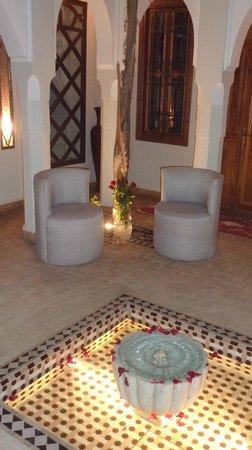 Riad Quara : La cour intérieure
