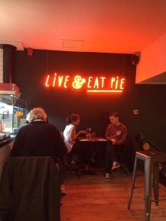 PieMinister Manchester, Live & Eat Pie