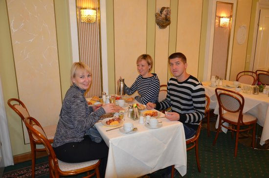 Bellevue Hotel : Ресторан