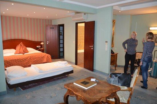 Bellevue Hotel : Наш номер на 5 этаже (522?)