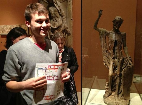 THATLou, Treasure Hunt at the Louvre: Find our first treaure