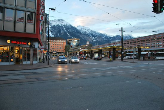 Ibis Innsbruck: just outside ibis