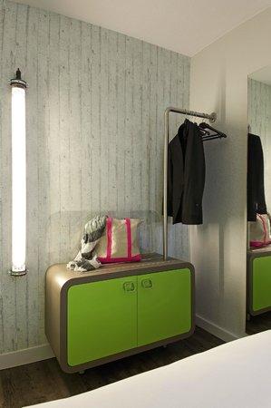 Ibis Styles: Détail chambre