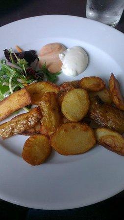 Cafe Limone: Potato Skins Starter