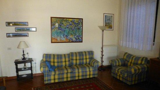 Villa il Castellaccio: Apartment 3 - living room