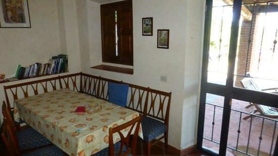 Villa il Castellaccio: Apartment 3 - Dining Room