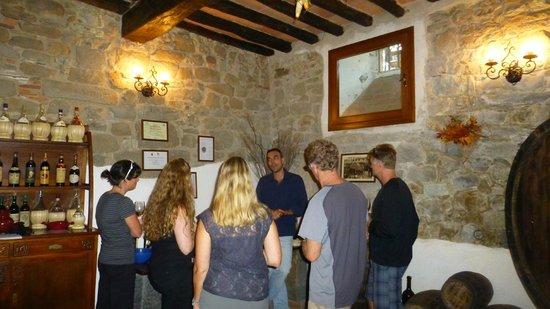 Villa il Castellaccio: Wine Tour with Leonardo - Wine Cellar