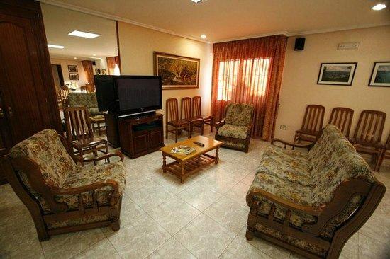 Hotel Lusitano: Salón social