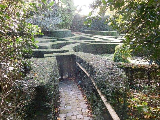 Musée David et Alice van Buuren : the labyrinth