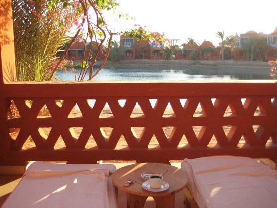 Sheraton Miramar Resort El Gouna: терасса