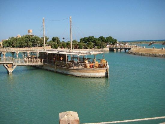 Sheraton Miramar Resort El Gouna: возле ресепшн