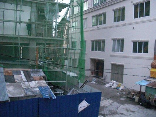 Valentino's Hotel: バルコニールームからの眺めです