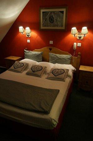 Hotel des Princes: La chambre-parents.