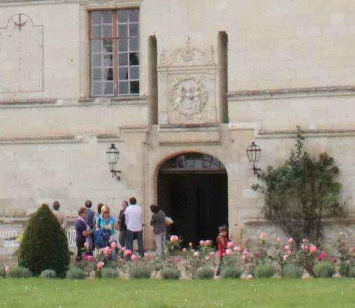 Chateau de l'Islette : Ingresso posteriore lato parco