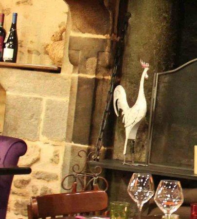 La Lycorne: Interno ristorante