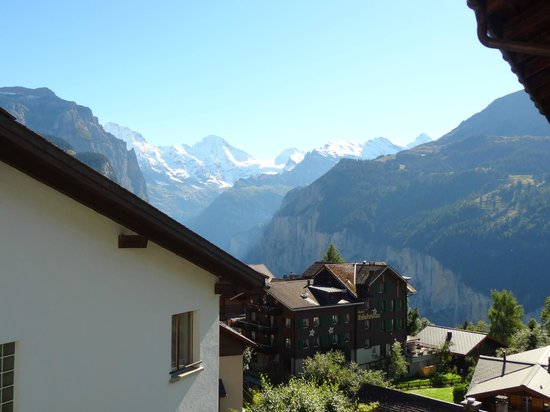 Hotel Edelweiss : It's all about the views