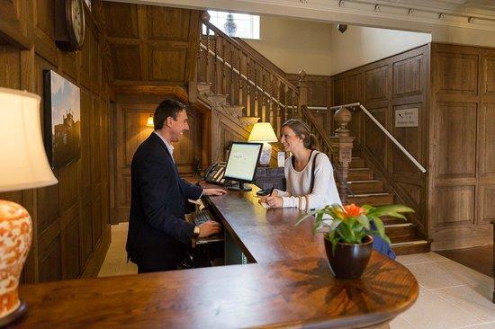 Hotel Ryde Castle: Reception