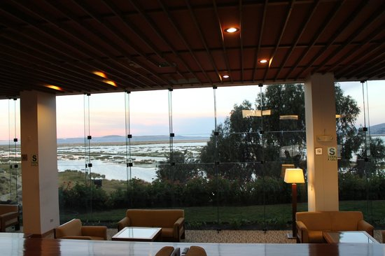 Libertador Lake Titicaca: Hottel Lobby
