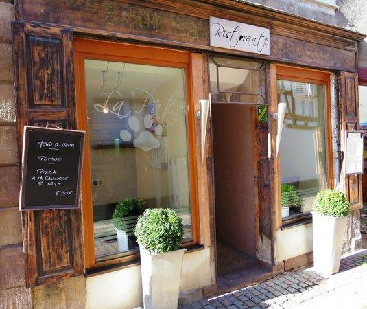 La Pate en l'Air: restaurant
