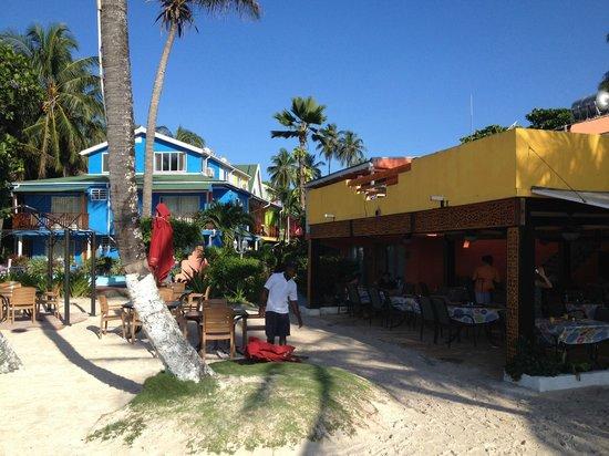 Cocoplum Beach Hotel: Comoplum, vista de quem está de costas para o mar