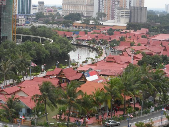 The Majestic Malacca: View from our room