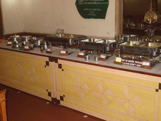 Hotel Le Jardin: buffet