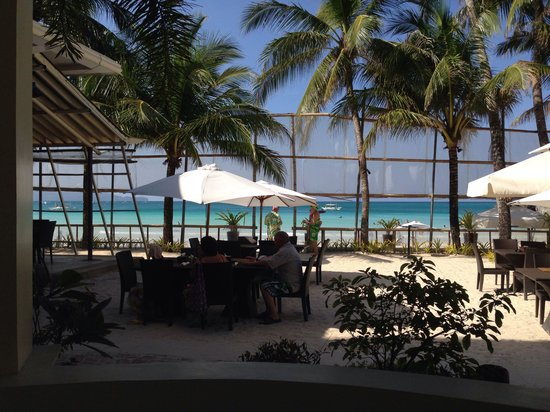 Willy's Beach Hotel : Deluxe room view