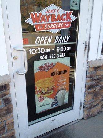Jake's Hamburgers: Beware if you pass through this door....